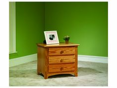 Amish Mission Collection Nightstand 2210 - Brandenberry Amish Furniture