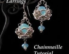 Image result for chainmaille earring patterns free