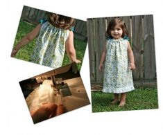 How to sew a pillowcase dress. Looks so easy!  Could use Disney fabric.