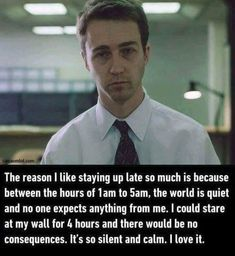 """20 Insomnia Memes For When You Can't Go The Eff To Sleep - Funny memes that """"GET IT"""" and want you to too. Get the latest funniest memes and keep up what is going on in the meme-o-sphere. Insomnia Funny, Insomnia Causes, Fight Club Quotes, Movie Quotes, Life Quotes, Mindset Quotes, Sleep Meme, Introvert Problems, Feeling Exhausted"""