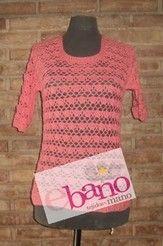 Remera tejida a mano al crochet, ideal para pasar las tardes ...