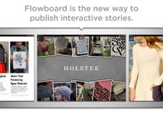 Flowboard ($0.00) is a storytelling and presentation app that allows anyone to make side-scrolling publications with images, text, videos, links, and photo galleries. Whether you have a story to tell, an idea to share, or a presentation to give, Flowboard allows you to create & present right from your iPad, or share to any device. Flowboards are fun, stylish, and entertaining.