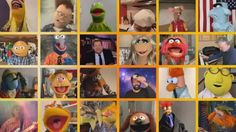 James Corden Joins the Muppets to Sing a Joyful 'With a Little Help From My Friends'