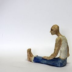 Jeunes / Céramique Sculpture / cadeau Unique Figurine par arekszwed
