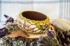 Boho Bangle Boho Chic Boho Bracelet Bohemian by ArtSenseBoutique