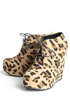Wedge booties from Threadsence