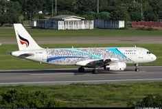 """Bangkok Airways """"Flying Bags"""" Airbus A320-232 @ CNX"""