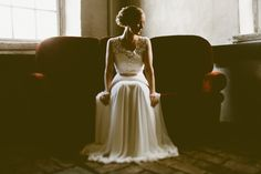 GORGEOUS! I'm completely in love with the bride's dress.   Elisa & Sakari // © Andria Lindquist 2014