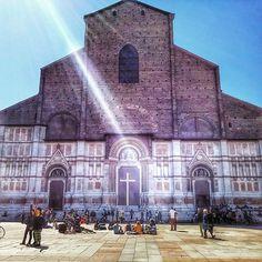 Basilica di San Petronio #bologna - Instagram by puntacapo