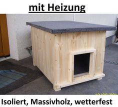 Katzenhaus kurz mit Heizung Katzenhütte Wurfkiste Hundehütte wetterfest isoliert Lösche Holzbau http://www.amazon.de/dp/B007DWV30E/ref=cm_sw_r_pi_dp_.OCuwb1RGVK14