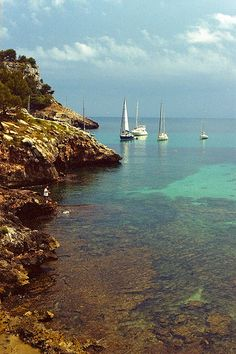 Cala Galdana, Menorca by Pelayo Maojo, via Flickr