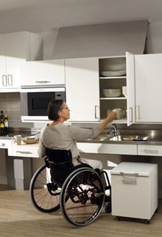 accessible kitchen. >>> see it. believe it. do it. watch thousands