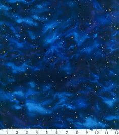 Premium Quilt Fabric-Stars Navy, -perfect for Dr Who bag