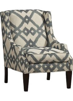 Living Rooms, Amanda Accent Chair, Living Rooms | Havertys Furniture Hereu0027s  A Better Look At The Chair. Fabric Choices Are Available In Havertyu0027s.