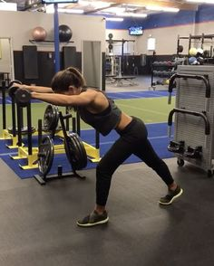 """10.9k Likes, 169 Comments - Alexia Clark (@alexia_clark) on Instagram: """"Dumbbells 40 seconds of each movement with 20 seconds rest between each movement and round! 3-5…"""""""