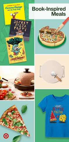 Plan a homemade pizza party for your little readers inspired by kids' favorite books & their choice of pizza sauce, crust & more.