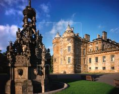 The Palace of Holyroodhouse Edinburgh, Scotland 2008 trip