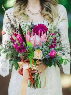 Stunning bouquet! What do you think of it?