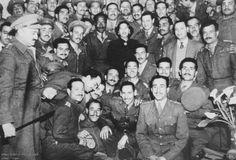 1948. ..Oum Keltoum  (singer) with  the egyptian army