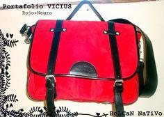 Portafolio VICIUS rojo