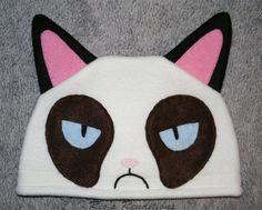 Grumpy Cat + Etsy = Grumpy Hats