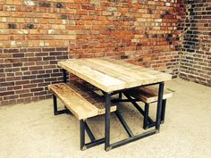 Industrial Mill Style Reclaimed Wood Small by ReclaimedBespoke, £595.00