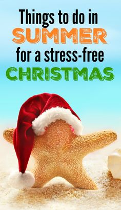I know...nobody really wants to think about Christmas during the summer, but if you spend just a little bit of time planning ahead now, you will enjoy the holidays that much more when December rolls around. Click to read my suggestions on how to prepare for a stress-free Christmas during the summer months.