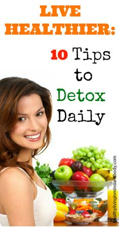 10 Tips to Detox Daily