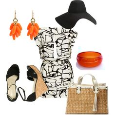 Summer in the City, created by aidynrj143 on Polyvore. It's been a while, but I'm back!