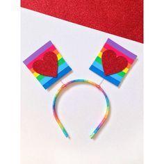 O amor da tiara é arco-íris - tiaras carnavalescas - Carnaval Costume, Baby Accessories, Rainbow, Costumes, Halloween, Catus, Diy, Jewelry, Carnival Signs