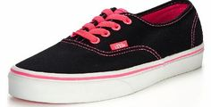 Vans Authentic Ladies With Neon Pop Vans Authentic Ladies With Neon Pop The Neon Pop Authentic features a low-top lace-up profile with canvas uppers and neon coloured eyelets to match the coloured Waffle Outsole Material Content: Other  http://www.comparestoreprices.co.uk//vans-authentic-ladies-with-neon-pop.asp