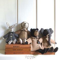 Farm Animals, Fabric Crafts, Teddy Bear, Birds, India, Toys, Activity Toys, Clothes Crafts, Goa India