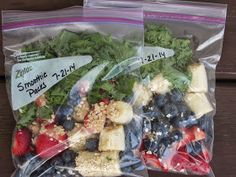 Been There Baked That: Freezer Smoothie Packs