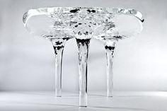 Zaha Hadid table, photo: Jacopo Spilimbergo