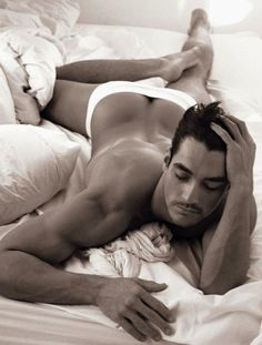 It's been several years since David Gandy posed for his Dolce  calendar, and it's times like these we're thankful that the internet is forever. Otherwise this stunning half-booty eclipse might have been lost to us forever, an astronomical legend. As it is, we might suggest wearing sunglasses, using a telescope, or whatever one is supposed to do to properly enjoy rare natural beauty like this.  Never gets old!