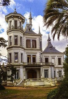 postcard - Palacio Idiarte Borda, Las Piedras, Uruguay | by Jassy-50