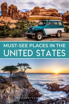 Jaw-Dropping Places To See In The USA Explore the best of the USA this fall and winter! Check out this awesome guide on the best places to visit in United States, featuring the most unique, beautiful Us Travel Destinations, Places To Travel, Vacation Places In Usa, Best Winter Vacations, Vacations In The Us, Travel Europe Cheap, Travel Usa, Travel Info, Italy Travel