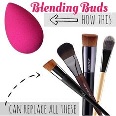 Did you know that the Blending Buds can replace a variety of your current makeup brushes? Get the Blending Bud Set and perfect your highlighting and contouring technique!