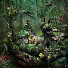 Лесные миры Александра Янссона. - Ярмарка Мастеров - ручная работа, handmade