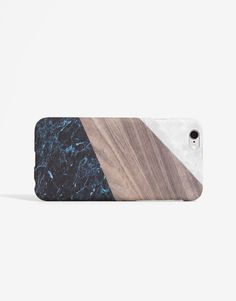 Pull&Bear - woman - mobile phone cover - marble print mobile phone cover…