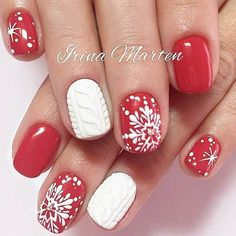 Warm Knitted Winter Nail Designs picture 2