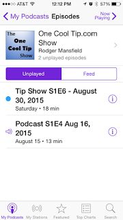 One Cool Tip: How to Listen to Great Podcasts on Your Phone or Computer  Listening to great podcasts has become a whole lot easier with better shows and easier to use apps.  You can listen to podcasts via a website, a PC file or through mobile apps for Apple's iPhone and Google's Android smart phones.  Learn how to do this.  Read the full Cool Tip:  http://www.onecooltip.com/2015/09/how-to-listen-to-great-podcasts-on-your.html  #podcast #OneCoolTip #Tunein #Stitcher #iTunes #Apple #Google