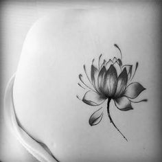 New Large Design Water Transfer Temporary Tattoos Stickers Waterproof Fake Tattoo Stickers Colored Water Lily Lotus