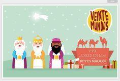 "06/01: VeinteMundos Magazines ""Crees tu en los reyes magos?"" (Spanish III, or use for gist in Sp2)"