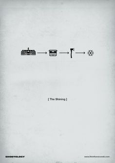 Minimalist Movie Posters Summarize Plots with Pictograms