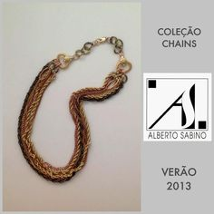 Chain Collection.  Summer 2013. Silvia's necklace.