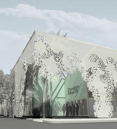 Design Miami/ Temporary Structure Rendering