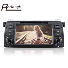 7'' 1024 x 600 HD Car Stereo USB SD Video DVD Player 2 Din Android 5.1 Quad-Core In-dash Mic for BMW Supoort AM / FM Radio Maps