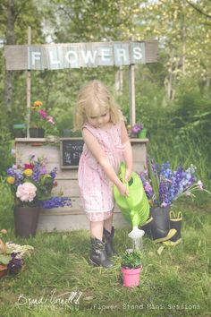 flower stand mini session  www.brandivarnellphotog.com