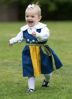 """""""Tomorrow it is Sweden's national day. The swedish royals will be celebrating at Skansen in Stockholm, the princesses wearing the national costume."""""""